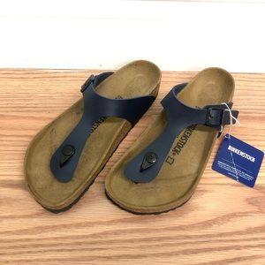 Birkenstock | Gizeh Sandals | Blue